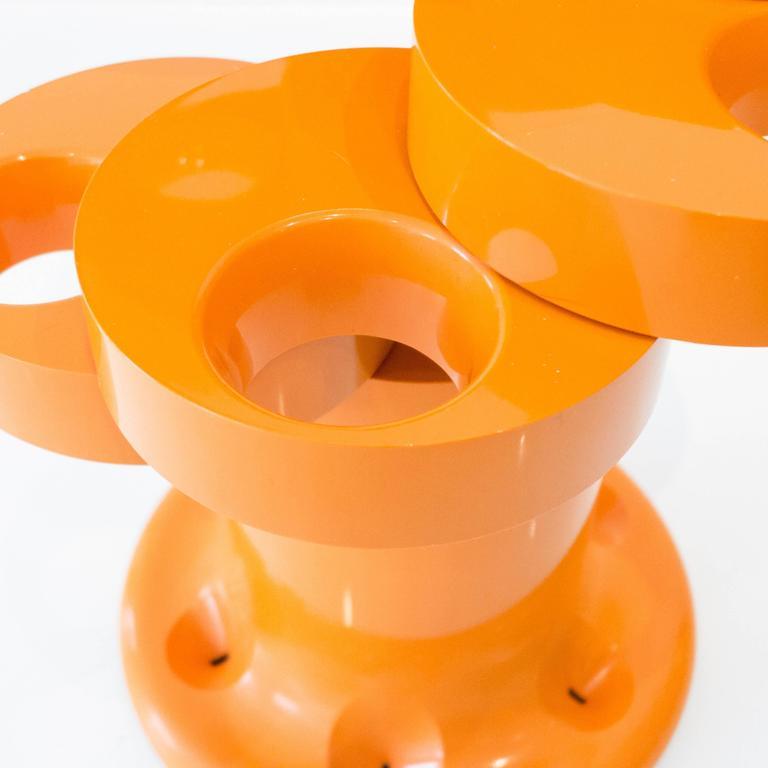 Pluvium Umbrella Stand in Orange 6
