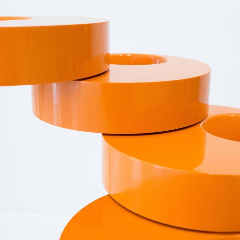 Pluvium Umbrella Stand in Orange 7