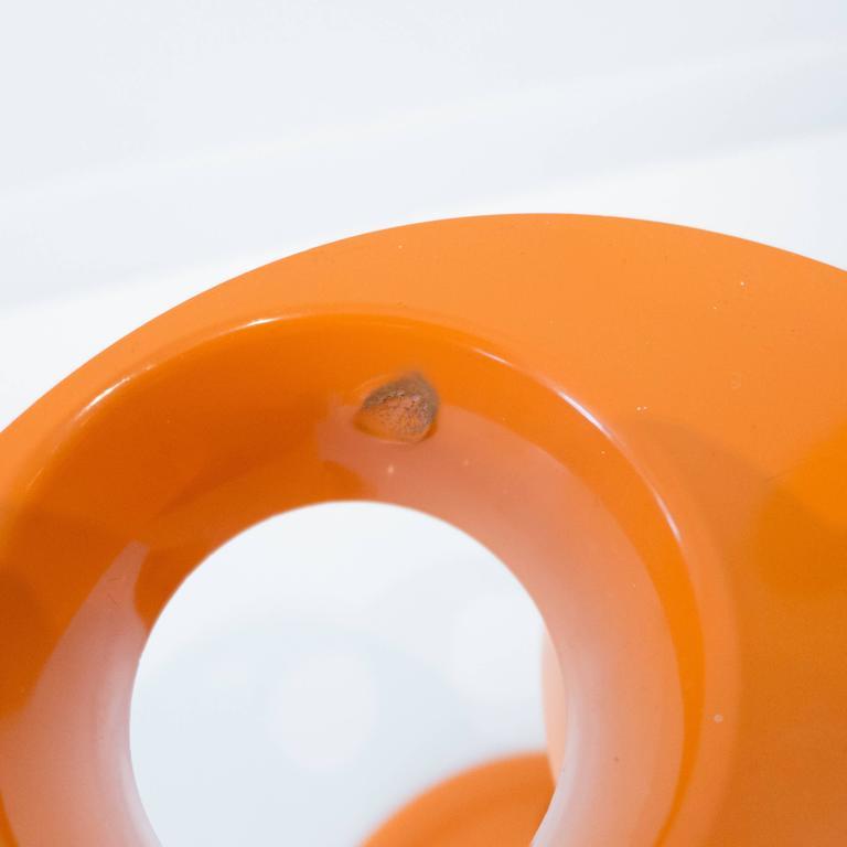 Pluvium Umbrella Stand in Orange 9