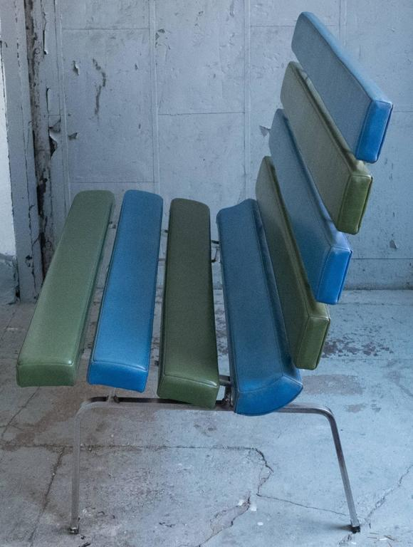 Mid-20th Century Gerald McCabe Slat Settee for Pacific Furniture For Sale
