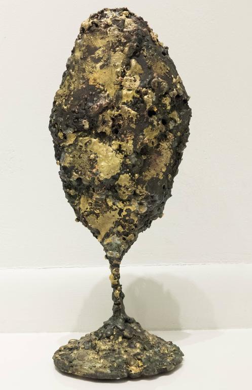 "Brutalist James Bearden ""Pod"" Sculpture For Sale"