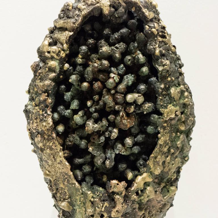 "American James Bearden ""Pod"" Sculpture For Sale"