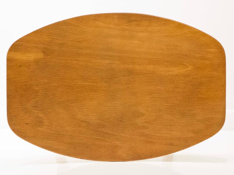 Mid-20th Century Ejvind Johansson Stool for FDB Mobler For Sale
