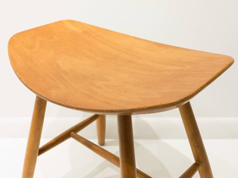 Ejvind Johansson Stool for FDB Mobler 7