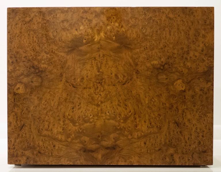 Large Burled Wood Side Table 5