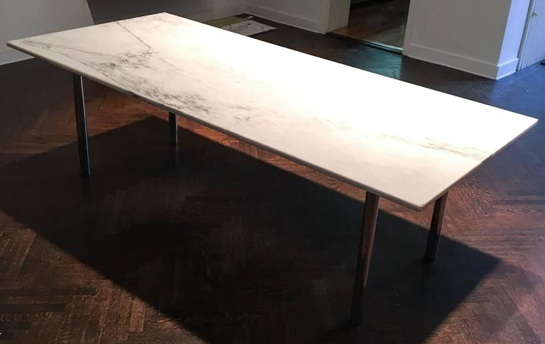Elaine Lustig Cohen Marble Extension Table 3