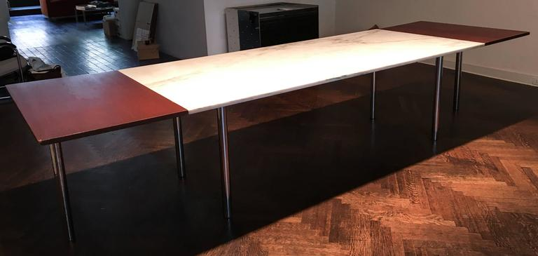 Elaine Lustig Cohen Marble Extension Table 5