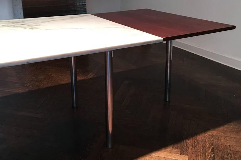 Elaine Lustig Cohen Marble Extension Table 6