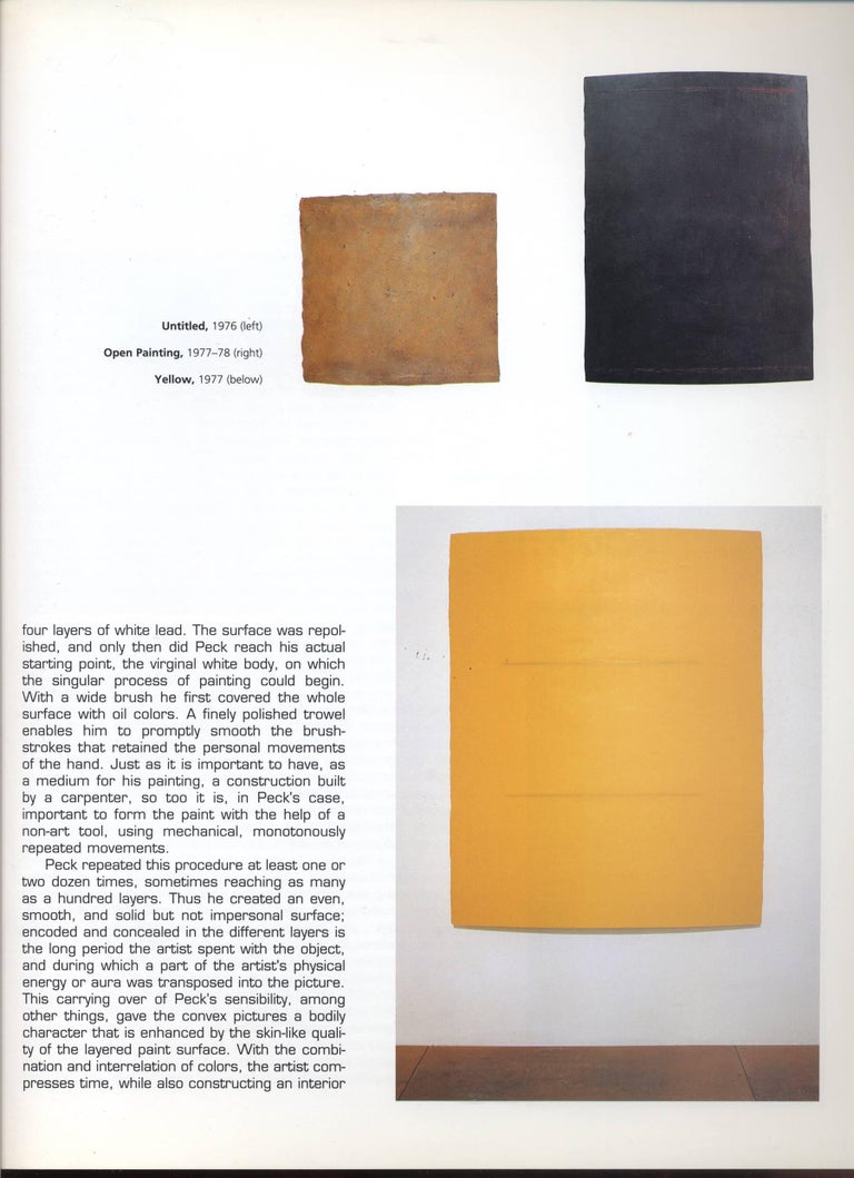 George Peck Monochromatic Painting For Sale 2