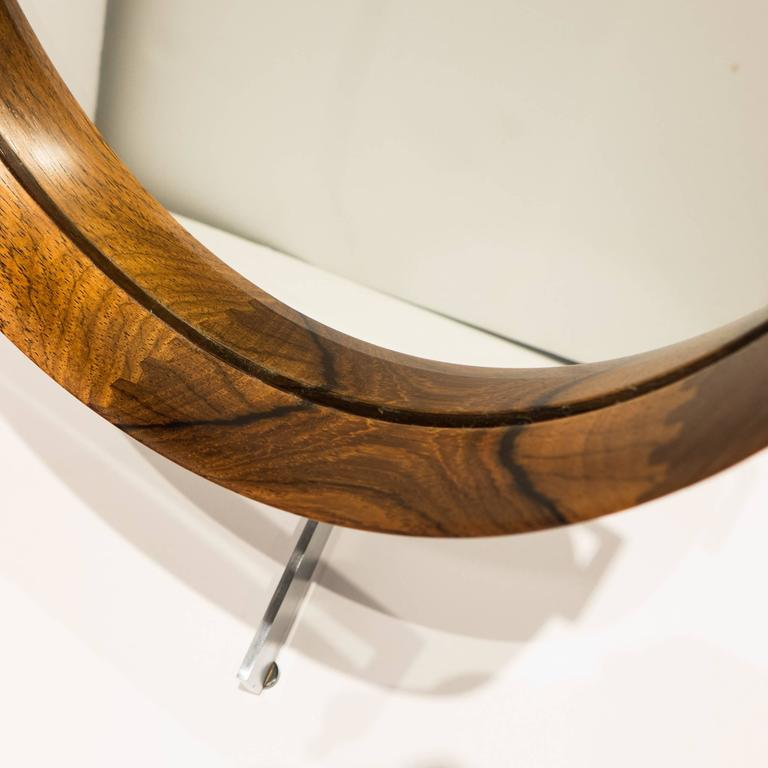 Uno and Osten Kristiansson Table Mirror for Luxus For Sale 3