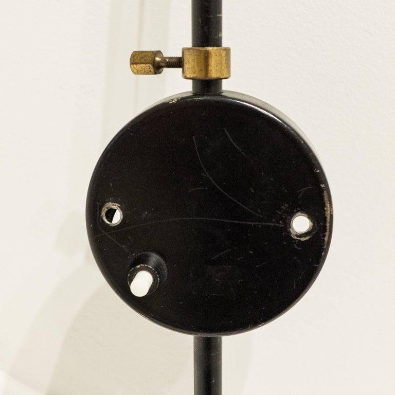 vintage serge mouille applique for sale at 1stdibs. Black Bedroom Furniture Sets. Home Design Ideas