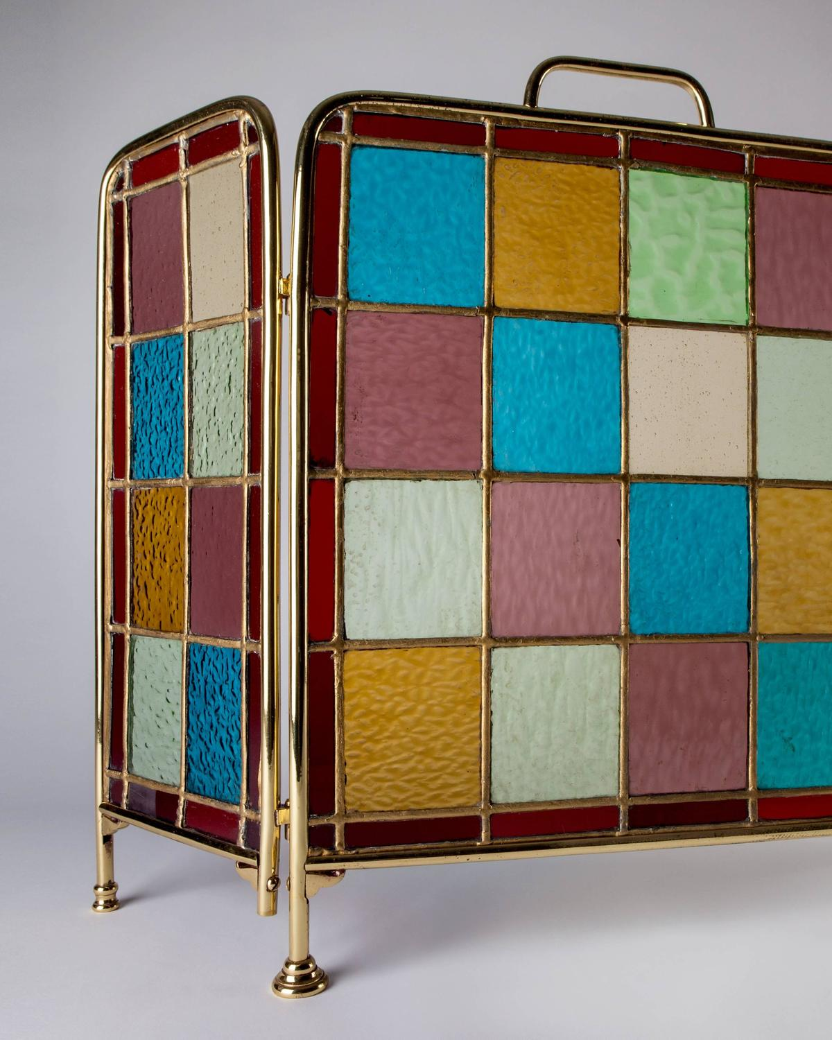 stained glass fireplace screens sale 28 images stained glass