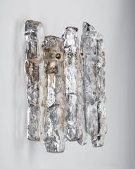 Kalmar glass sconces, Circa 1960