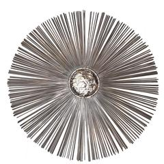Nickel Plated Wall Decoration