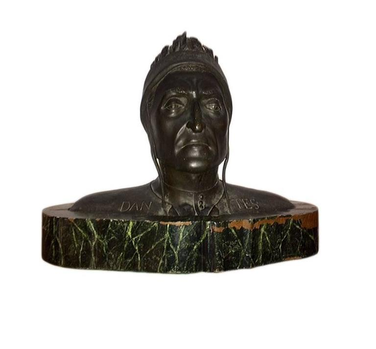 Grand Tour Bust of Dante For Sale