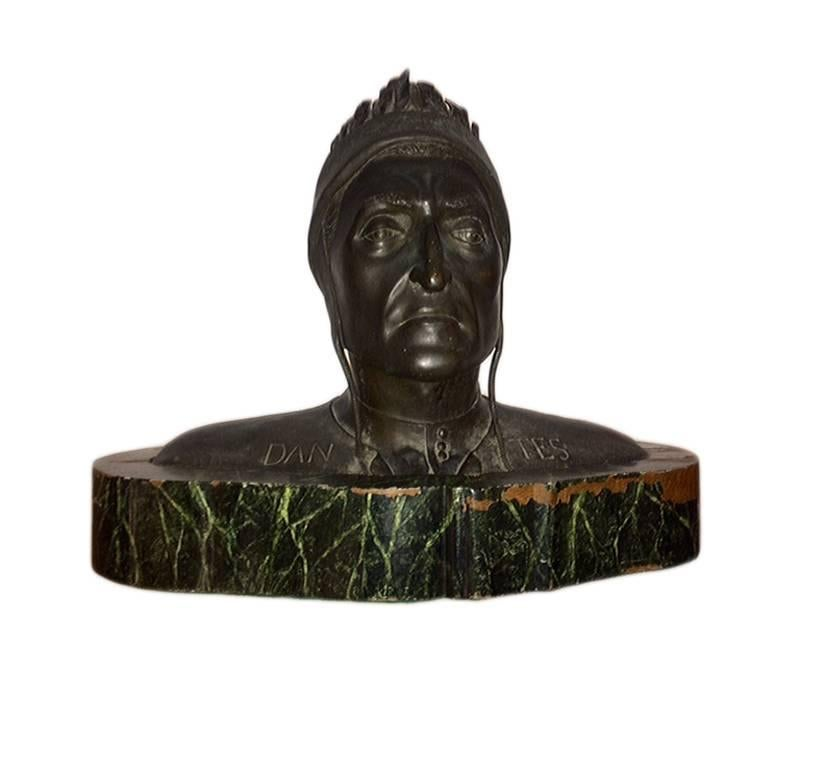 Grand Tour Bust of Dante