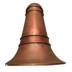 Set of Six Copper Lantern Fixtures