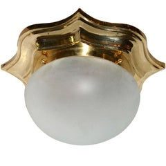 Set of Flush Mounted Fixtures, Sold Individually