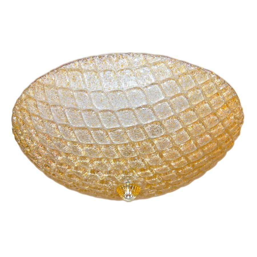 Midcentury Murano Pendant Light