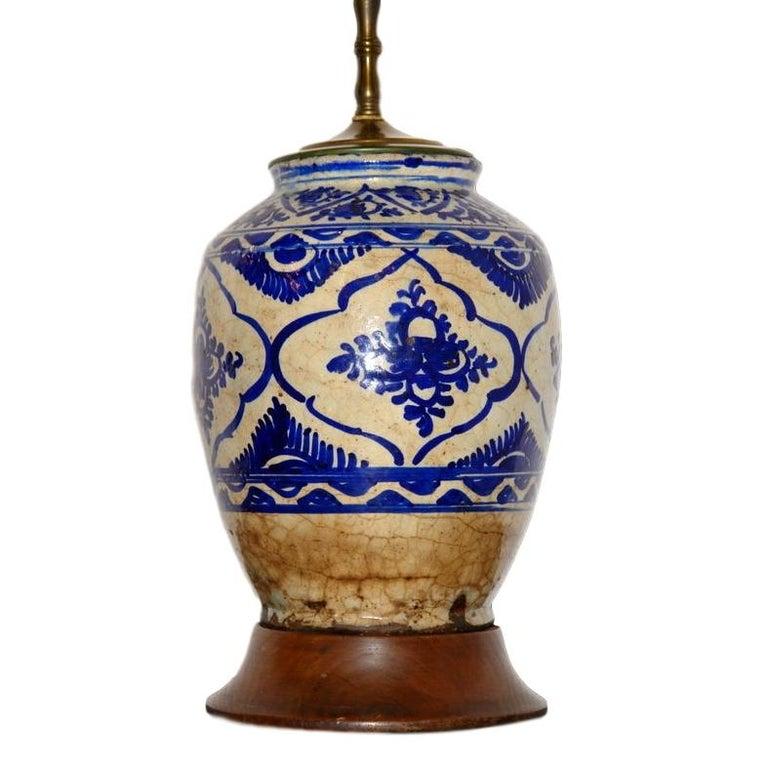Persian Vase Table Lamp
