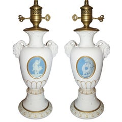 Wedgwood Porcelain Table Lamps
