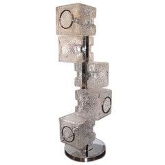 Single Moderne Glass Lamp