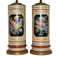 Floral Porcelain Table Lamps