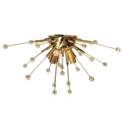 Set of Flush Mounted Sputnik Light Fixtures