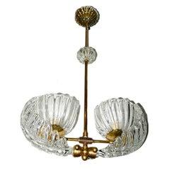 Venetian Glass Chandelier