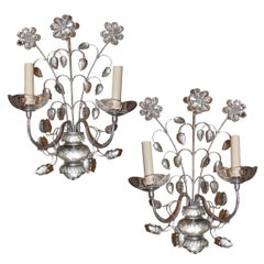 Set of Four Silver Plated Sconces