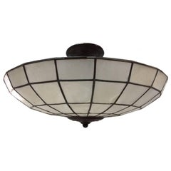 Capiz Ceiling Light Fixture