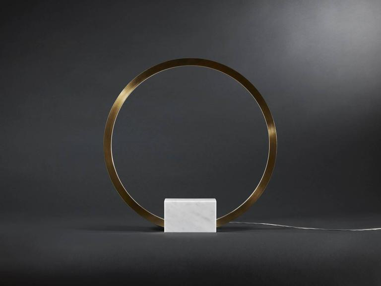 What is a Portal? A magical or technological passageway connecting two environments, dimensions, or points in time.  Price listed is for a polished brass. Polished stainless steel, powder coated black and powder coated white are also available.