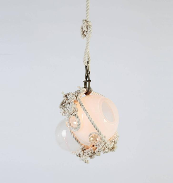 American Small Knotty Bubbles Pendant (small) by Lindsey Adelman for Roll and Hill For Sale