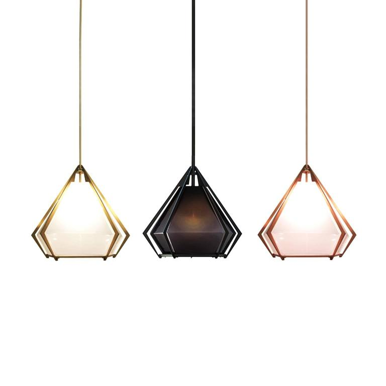 American Modern Harlow Pendant (Large) by Gabriel Scott For Sale