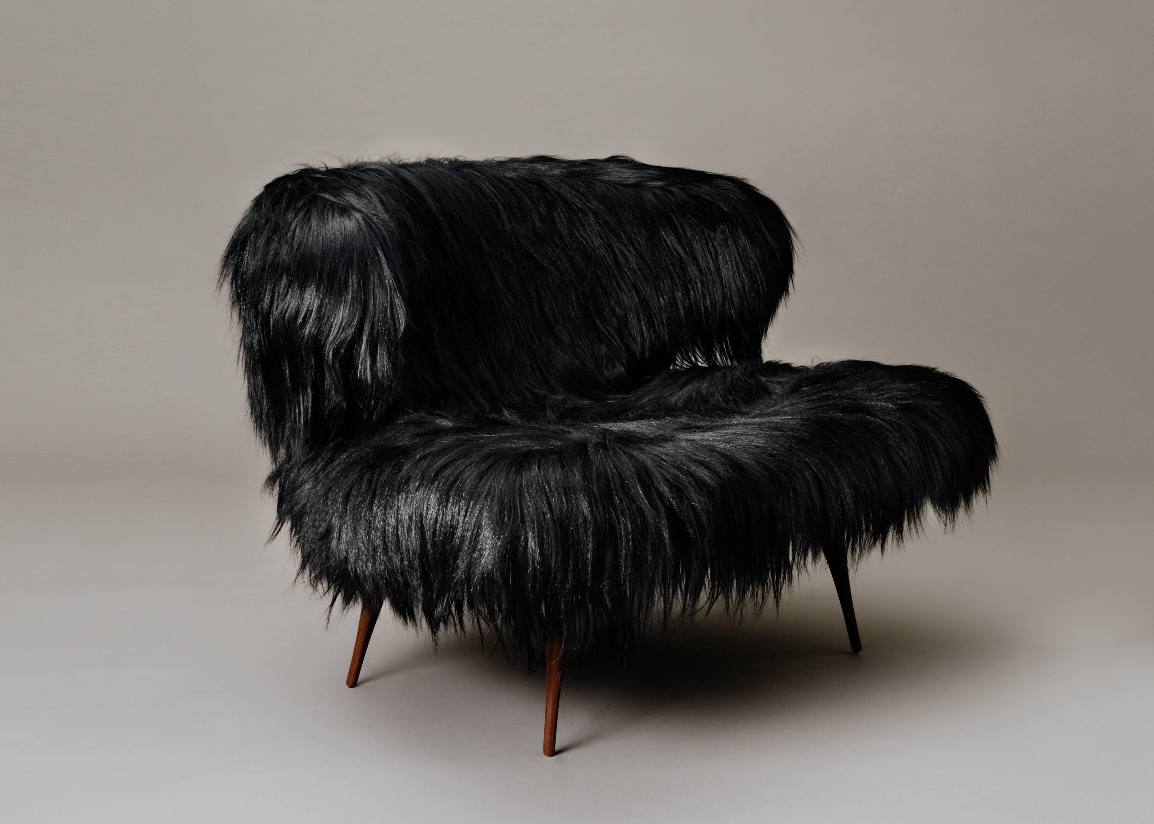 Contemporary Woolly Bella Chair By Videre Licet For Sale