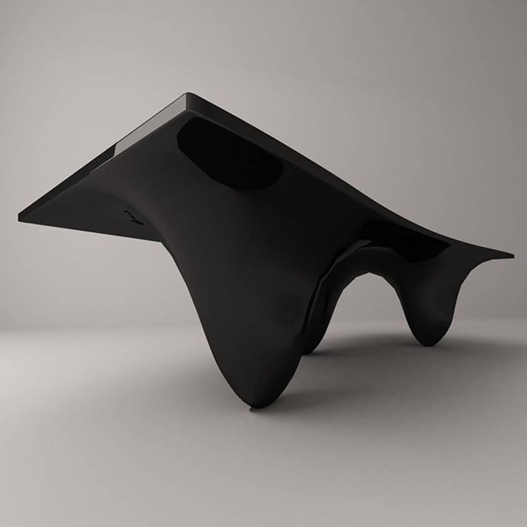 Aqua Table by Zaha Hadid for Established & Sons In New Condition For Sale In Los Angeles, CA