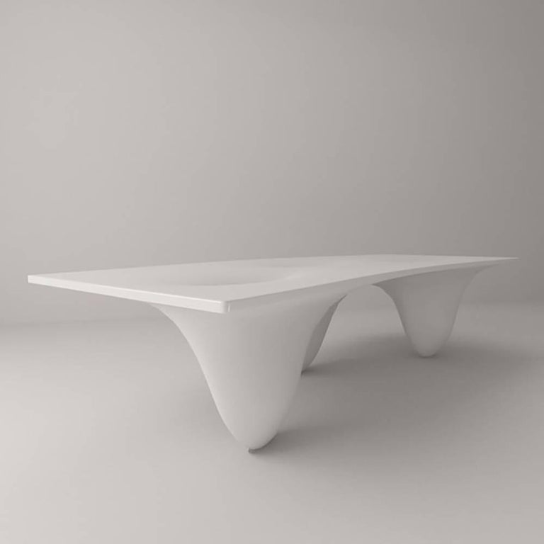 Contemporary Aqua Table by Zaha Hadid for Established & Sons For Sale