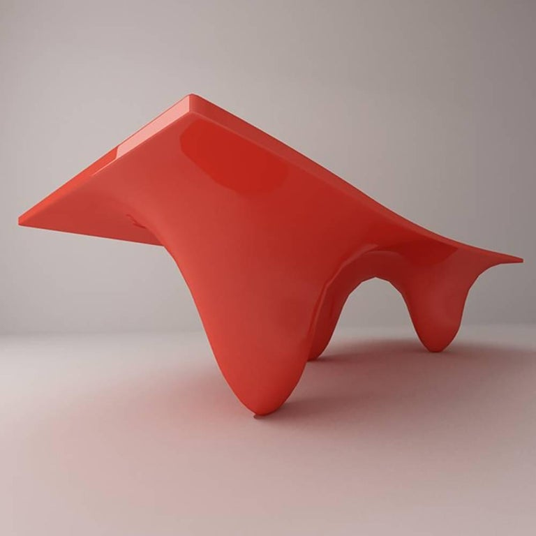 Polyester Aqua Table by Zaha Hadid for Established & Sons For Sale