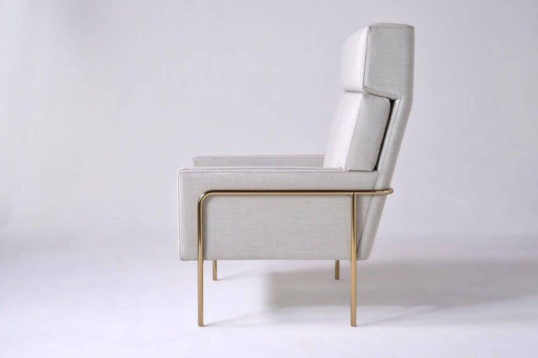 American Trolley High Back Lounge Chair by Phase Design For Sale