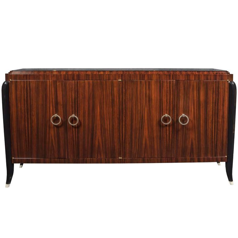 Art Deco Inspired Indian Rosewood Sideboard 1