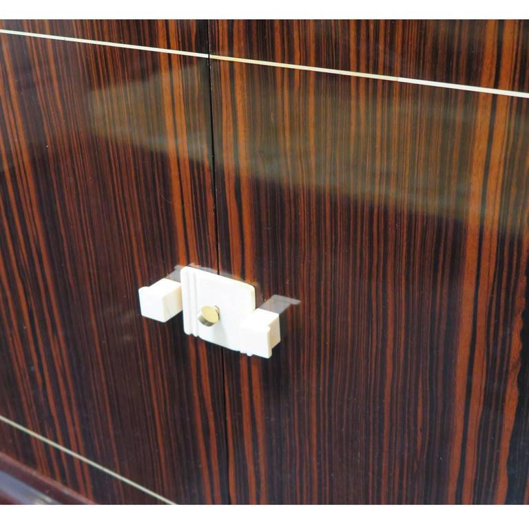 Louis Majorelle French Art Deco Sideboard in Macassar Ebony 6