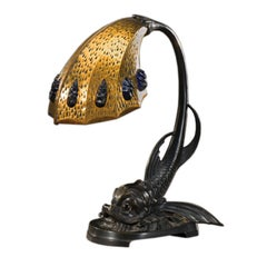Art Nouveau Table Lamp, France, 1900s