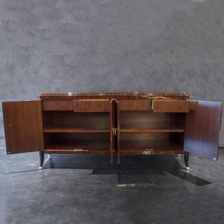 Art Deco Inspired Indian Rosewood Sideboard 5