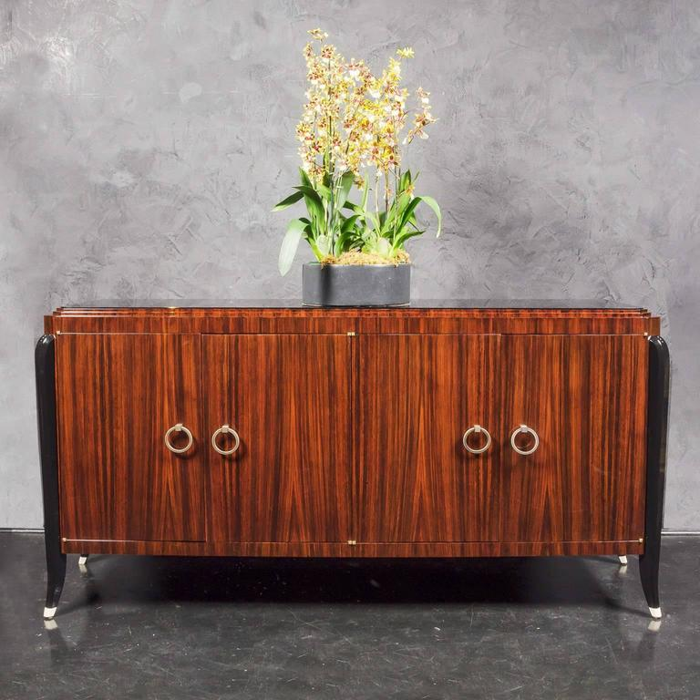 Art Deco Inspired Indian Rosewood Sideboard 3