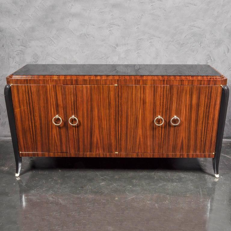 Art Deco Inspired Indian Rosewood Sideboard 2