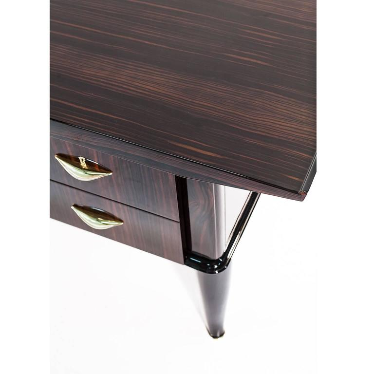 Art Deco Executive Desk Attributed To Andre Arbus At 1stdibs