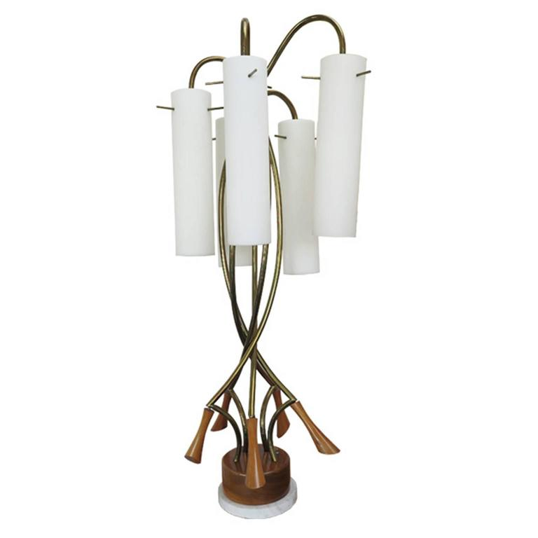 Rare Danish Modern Oversized Table Lamp