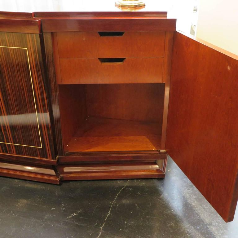 Louis Majorelle French Art Deco Sideboard in Macassar Ebony 7