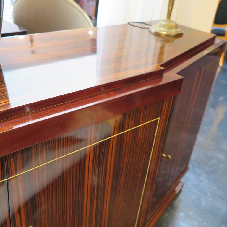 Louis Majorelle French Art Deco Sideboard in Macassar Ebony 5