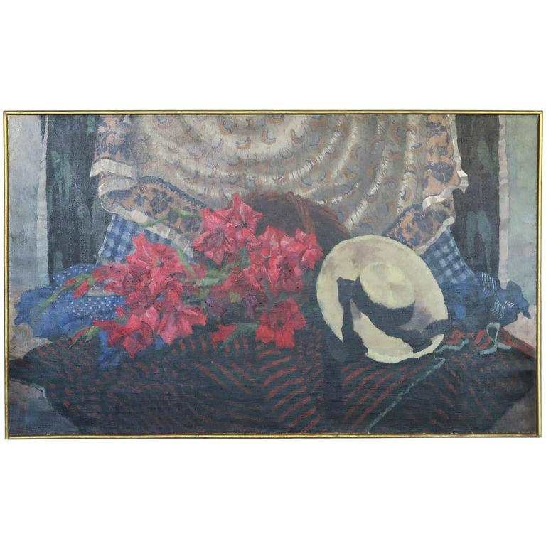 Lifestyle Painting by Zene Fountayne For Sale